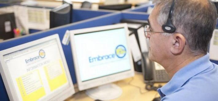 Embrace call handler