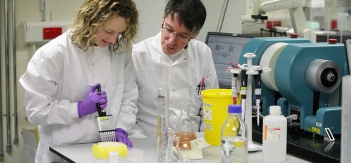 staff in laboratory
