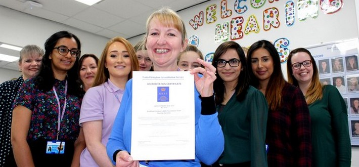 Sheffield Children's hearing service receives prestigious accreditation