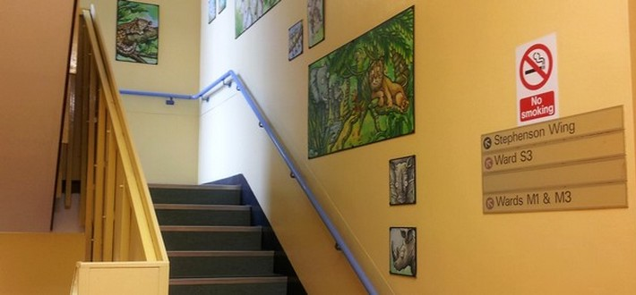 stairs to Ward M3