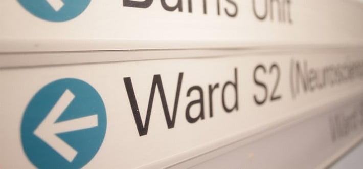 ward S2 sign