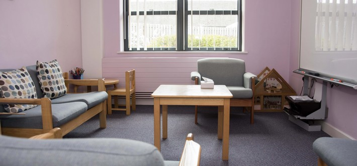 Beighton CAMHS room
