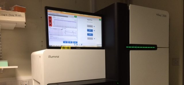 Hi Seq 2500 DNA sequencing machine