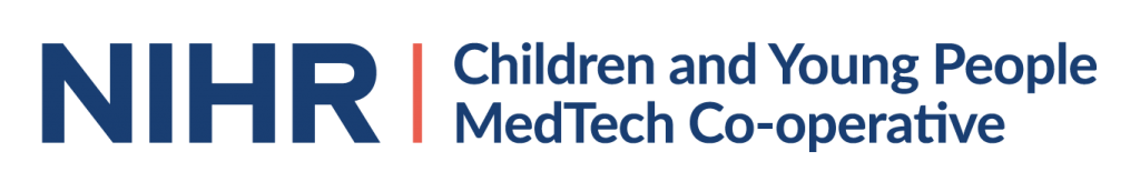 Logo for the Children and Young People MedTech CoOp