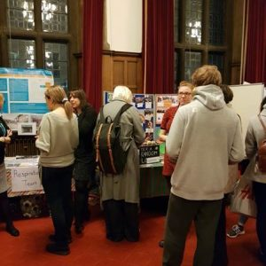 Young people at transition evening