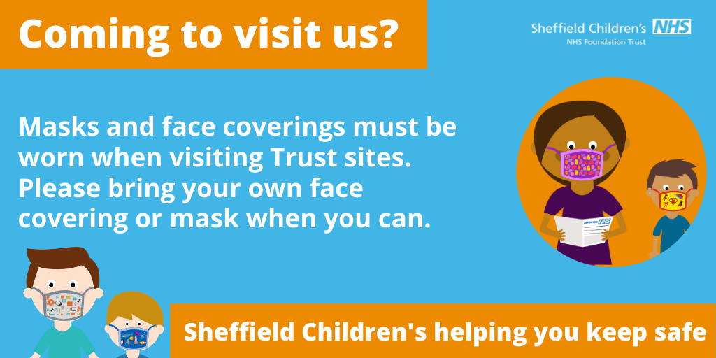 Patients, visitors and staff to wear face masks and face coverings from 15 June
