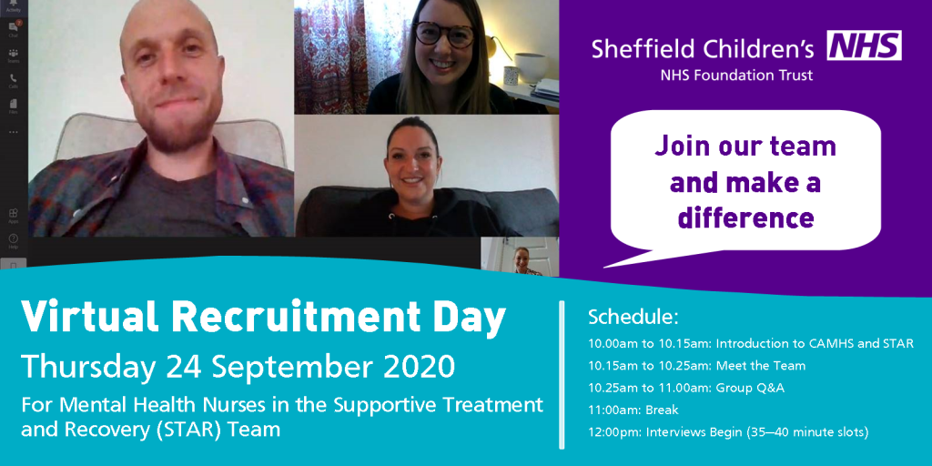 Recruitment day poster