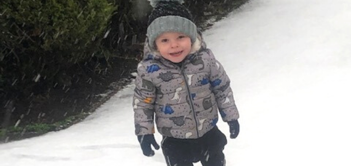 Theo's story: A year on from a colostomy operation