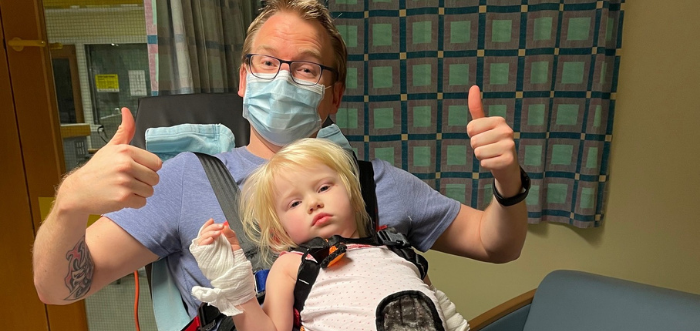 Annabelle's story: Staying on Ward 3
