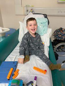 Elijah in hospital