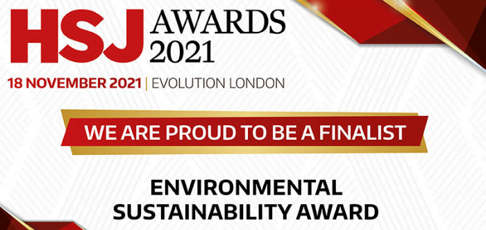 Sheffield Children's nominated for the HSJ Environmental Sustainability Awards